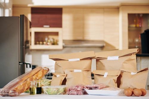 la livraison à domicile de repas